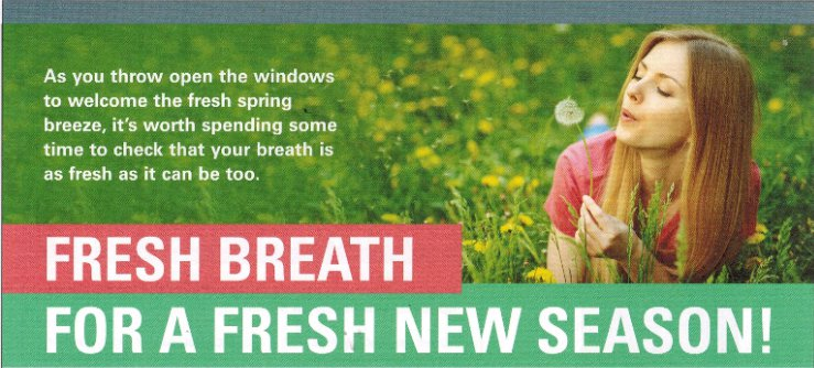 Fresh Breath for a fresh new season