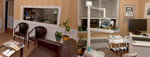 Dentist In Flushing New York Office Waiting Room and Exam Room
